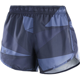 Salomon Agile Shorts Women night sky/graphite/crown blue